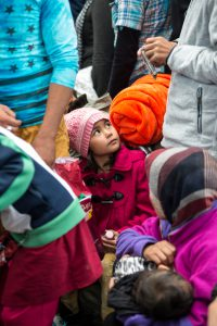 Budapest , Hungary - September 10, 2015: Report of refugees from Syria, Pakistan, Afghanistan in the railway station Budapest Keleti of Hungary.All they are looking for a better opportunity to live better, away from poverty and being killed simply for being Catholic. Here in this picture you can see the actual situation in this place.